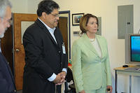 Speaker Nancy Pelosi Visits ASFT